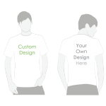 Custom Printed TShirt - White